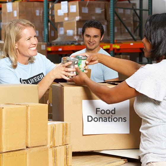 donating charity